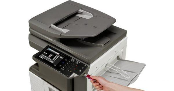 fotocopiatore bianco e nero sharp MX-M266NV formato A3