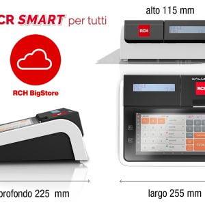 Registratore di cassa telematico RCH Walle 8T