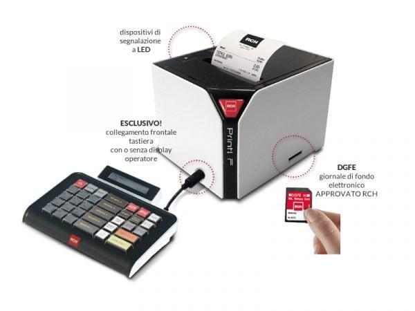 Stampante fiscale RCH modello Print-F RT.